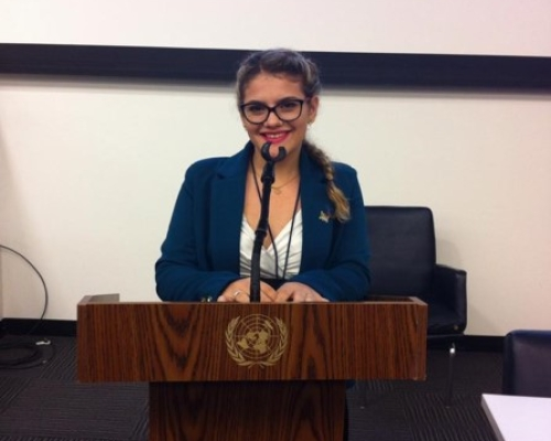 Letícia Braga da Rosa – Global Young Leaders Conference 2014