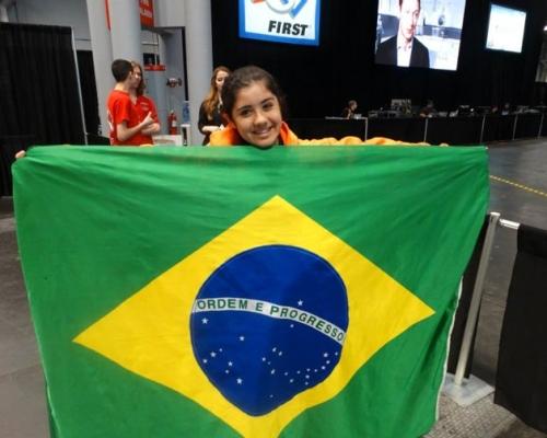 Ana Lídia Ferreira – Competição de Robótica First New York 2015