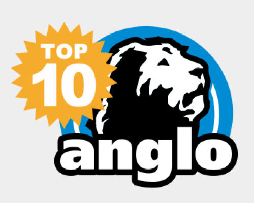 Alunas Top Ten no Colégio Anglo 2015