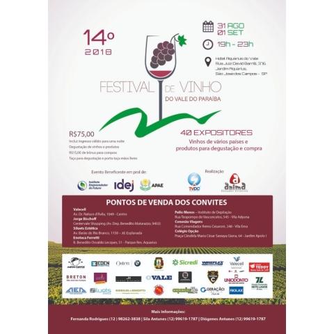 14º Festival de Vinho 2018
