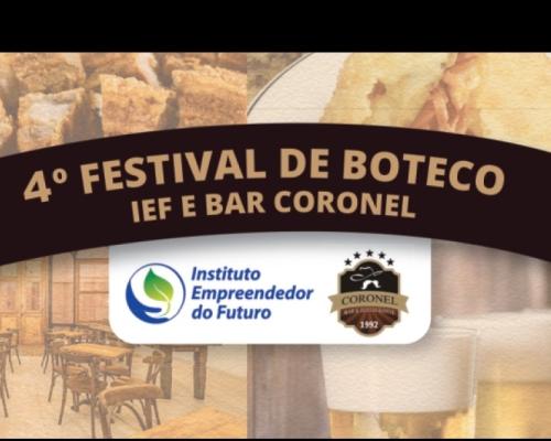 4º Festival de Boteco IEF e Bar Coronel