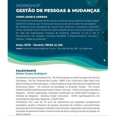 GESTÃO DE PESSOAS & MUDANÇAS