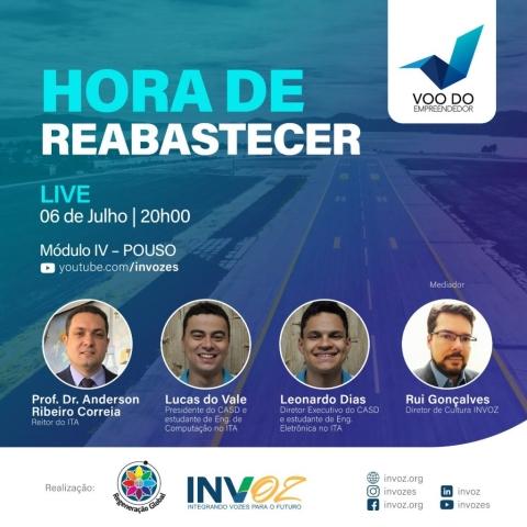 LIVE HORA DE REABASTECER