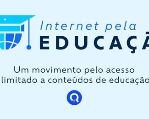 INTERNET PELA EDUCAÇÃO